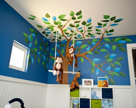 mural-infantil-arbol